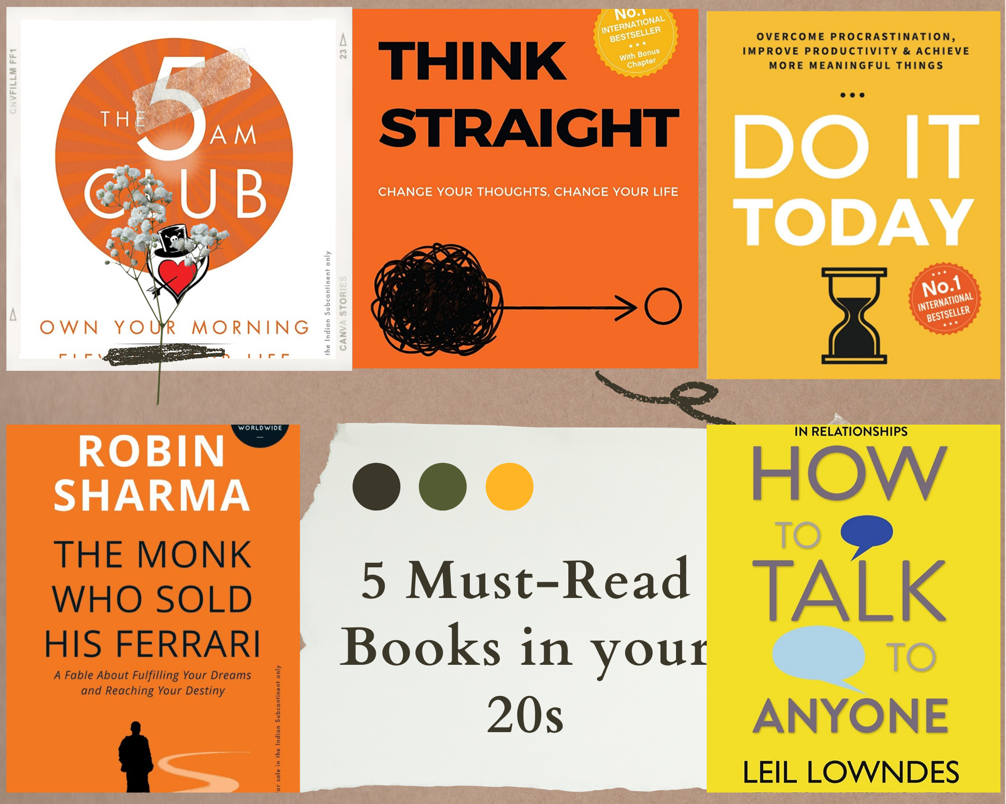 20 Must Read books in your 20s   Book reviews you should not mis