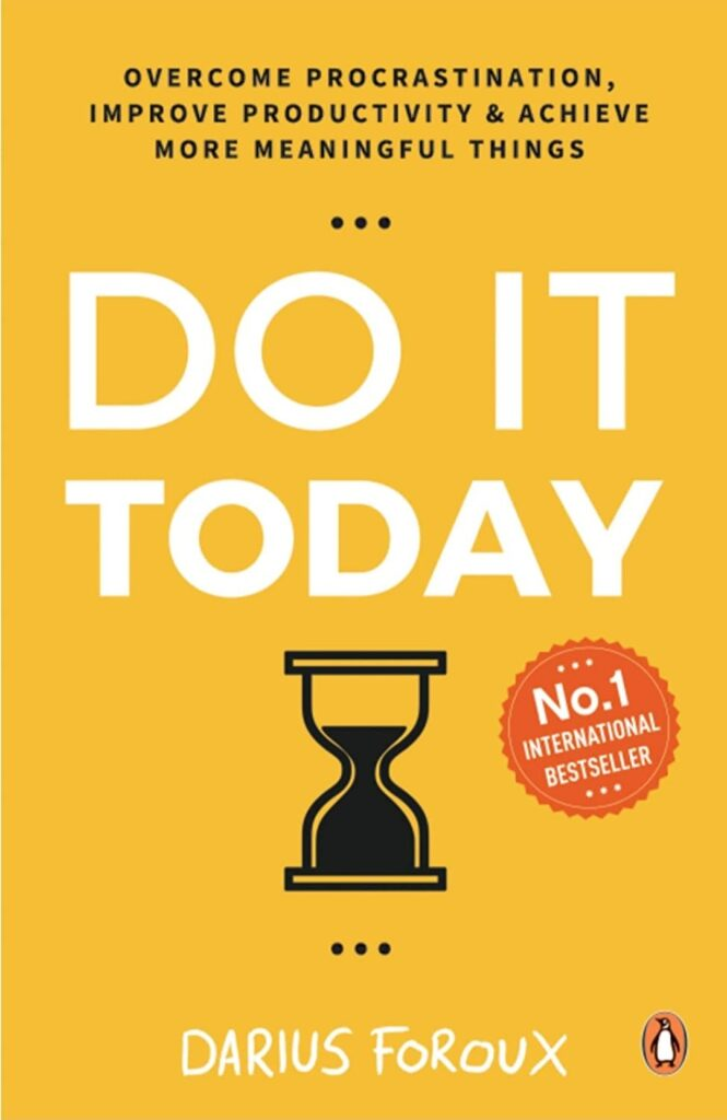 Do it today book