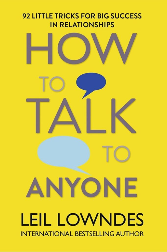How to talk to anyone book